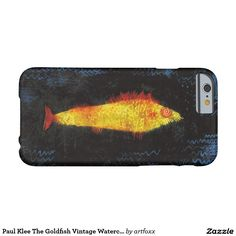 Paul Klee The Goldfish Vintage Watercolor Art Barely There iPhone 6 Case