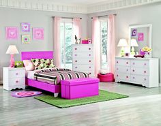 GIRLS ROOM COLOR IDEAS WITH GRACEFUL EMPLOY  click here http://www.karaguffeyphotography.com/girls-room-color-ideas-with-graceful-employ/marvellous-nightstand-and-furnished-with-drawers-sets-white-and-pink-girls-bedroom-sets-including-single-bed-and-bench-storage-completed-by-night-lamp/