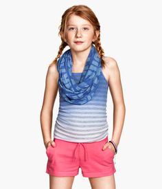 H&M Jersey shorts € Holiday Outfits, Holiday Clothes, Jersey Shorts, Detail, Girls, Fashion, Tricot, Toddler Girls, Moda
