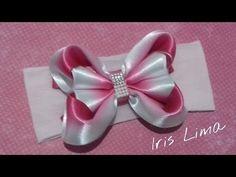 Laço de fitas,mil faces -D.I.Y ,PAP -Satin ribbon bow - YouTube