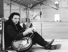 Even though Bono started as a guitarist for U2, he does not regularly play the guitar today.
