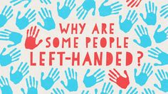 """About one-tenth of the world is left-handed and according to archaeological evidence, that's been true for 500,000 years. Whoa. So how come left-handers are still around? In this fascinating Ted video, Daniel M. Abrams explains howa mathematical model suggests that the reason is something to do with the """"balancebetween competitive"""