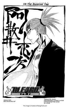 Bleach Manga ch.118 Page 1