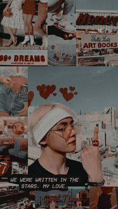 The Type of Boyfriend ➵ Taehyung Bts Aesthetic Wallpaper For Phone, Aesthetic Pastel Wallpaper, Aesthetic Wallpapers, Taehyung Cute, Kpop, Spirit Fanfic, Les Aliens, K Wallpaper, Bts Backgrounds