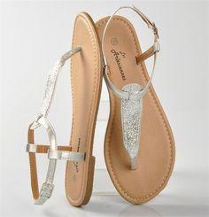Tendance Chaussures   SANDALES ARGENTE