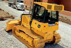 450J Bulldozer from John Deere