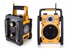 Rugged and waterproof outdoor speakers by Britz Electronics
