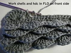 Floating Shells Stitch Tutorial By Tera Kulling - (triflesntreasures)