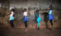 Striking Photos Of The Ballet Program Bringing Strength To One Of Africa's Biggest Slums