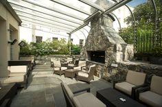 Restaurant Patrick Guilbaud Terrace Dublin City, Michelin Star, Top Restaurants, Blue Books, Al Fresco Dining, Summer Evening, Modern Classic, Townhouse, Terrace