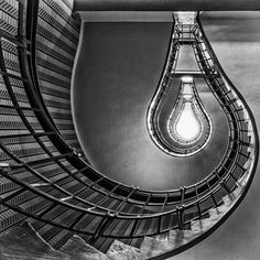 [Photo by leica_camera on Instagram] Stairwell of the Grand Cafe Orient in Prague shot by Leica Fotopark user Adi Khindaria during a trip through the Czech Capital with his Leica M and Tri-Elmar.  #LeicaCamera #Leica # #LeicaFotopark #Fotopark #LeicaM #TriElmar