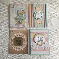 Greeting Cards Handmade Card One of a Kind by MintCraftingCompany
