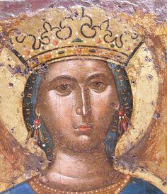 Byzantine Icons, Byzantine Art, Raphael Angel, Archangel Raphael, Saint Katherine, Face Icon, Fall Of Constantinople, Albrecht Durer, Orthodox Icons