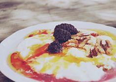 Morning Diaries - yogurt with honey and walnuts