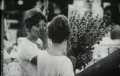frenchnewwave:  Hélène Chatelain in La jetée, 1962. Directed by Chris Marker