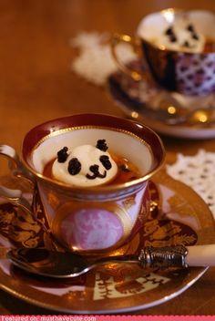 Panda tea.