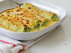 Leek, spinach and ricotta cannelloni - The Petit Gourmet