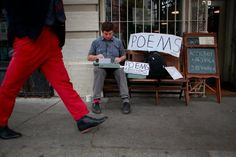 Poetry for survival | City Exposed | an SFGate.com blog