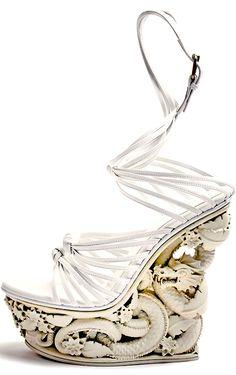 HEELS game-of-style: House Targaryen - Emilio Pucci. High Heels Boots, Shoe Boots, Emilio Pucci, Crazy Shoes, Me Too Shoes, Couture Shoes, Shoe Art, Art Shoes, Women's Shoes