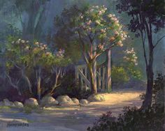 A Special Place Painting Michael Humphries