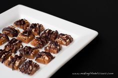 Super Fancy Salted Burbon Caramels ~Making Life Delicious.