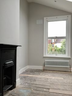 Farrow and Ball cornforth white bedroom - perhaps with wardrobes painted blue Farrow And Ball Living Room, Farrow And Ball Paint, Living Room Paint, Living Room Colors, Bedroom Colors, My Living Room, Farrow Ball, Farrow And Ball Kitchen, All White Farrow And Ball