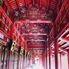 Imperial City, Hue, Vietnam. The Imperial City in Huế is a walled fortress and palace in the former capital of Vietnam. (V)