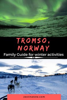 We spent 5 days in Tromso, chasing the Northern Lights and soaking in the arctic splendour. Husky sled ride, a close encounter with wolves, visit to the most northerly aquarium and so many arctic adventures to be had for families. Backpacking Europe, Europe Travel Guide, Travel Guides, Travelling Europe, Traveling, Europe Destinations, Visit Norway, Norway Travel, France