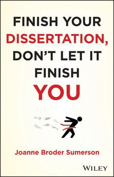 writing your dissertation in