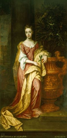 Art Collector: The Hampton Court Beauties are a series of 8 portraits by Sir Godfrey Kneller, depicting the most glamorous ladies from the court of William III.