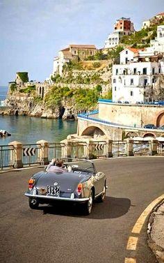 Amalfi Coast Drive.. Italy