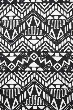 black and white tribal patterns tumblr - Google Search