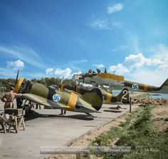 Ww2 Aircraft, Fighter Aircraft, Military Aircraft, Fighter Jets, Finland Air, Finnish Air Force, Colorized History, Navy Air Force, Ww2 Pictures