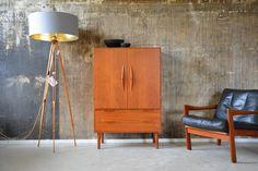 60er TEAK KOMMODE HIGHBOARD DANISH DESIGN 60s von stilraumberlin auf DaWanda.com