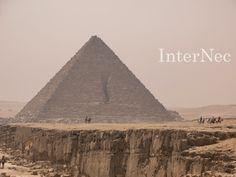 Die Pyramiden von Gizeh bei Kairo http://www.internec.de