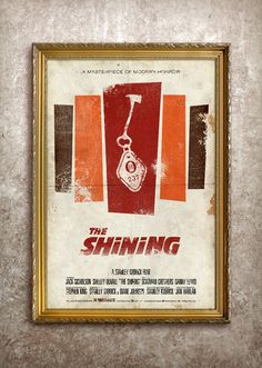 The Shining 27x40 Theatrical Size Movie Poster by adamrabalais