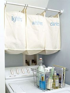 love this idea...i cant stand dirty clothes on the floor..yuck!!