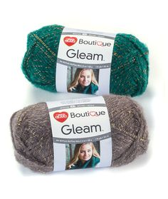 Red Heart Gleam yarn