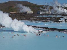 アイスランド レイキャビクにある世界最大の露天風呂「ブルーラグーン」