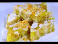 Banh Chuoi Hap - Steamed Banana Cake - looks wonderful