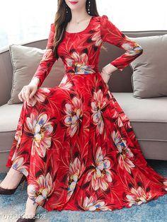Elegant Dresses Classy, Stylish Dresses For Girls, Classy Dress, Indian Gowns Dresses, Indian Fashion Dresses, Maxi Dresses, Floral Dress Outfits, Tutu Skirts, Party Dresses