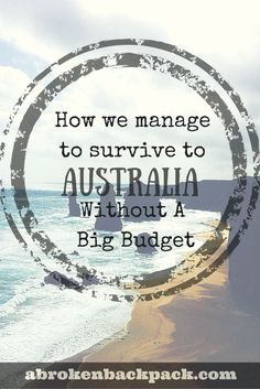 Australia.The one that rhymes with THE big paycheque, wildlife, the Working Holiday Visa ... ... Paradise for roadtrips, surfing(and surfers) and sunburns. I must admit that THE wage was one of my...