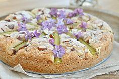 Rebarborovo- mandlovy kolac