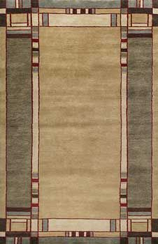 mission style area rugs   Mission style rugs, Arts and Crafts style rugs