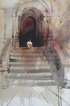 Alvaro Castagnet, 1954 ~ Watercolor painter | Tutt'Art@ | Pittura * Scultura * Poesia * Musica |