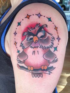 Disney Tattoo - Archimedes love him. The Sword in the Stone | I ...