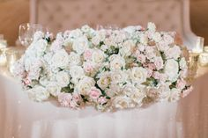 Los Angeles and Orange County Luxury Wedding Floral and Event Design Romantic Centerpieces, Wedding Reception, Wedding Day, Romantic Look, Spray Roses, Sweetheart Table, Newport Beach, Luxury Wedding, Peony