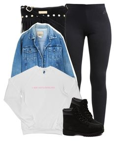 """Untitled #742"" by society-is-ugly ❤ liked on Polyvore featuring NIKE and Timberland"