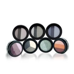 Eye Shadow Trios Terrific eye shadow pots with inventive combinations of multiple shades.
