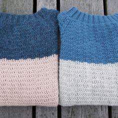 Tordentrøje - Lutter Idyl // Hæklet Sweater // Crochet Sweater